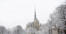 Heinz Chapel in winter